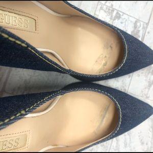 Guess Shoes - Guess Babbitta Denim Heels